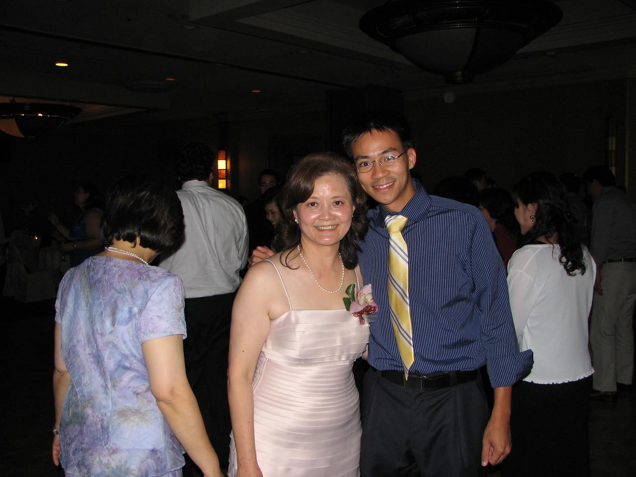 2006 10 08 Sun - Reception - Mrs  Chi & Ben Yu 2