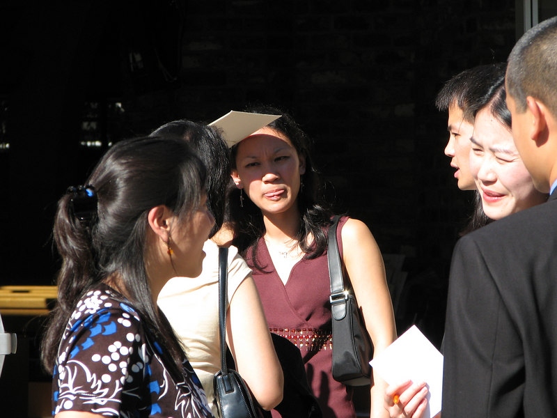 2006 10 08 Sun - Ceremony - Angela Chen, Emy Chen, & Sam Chung