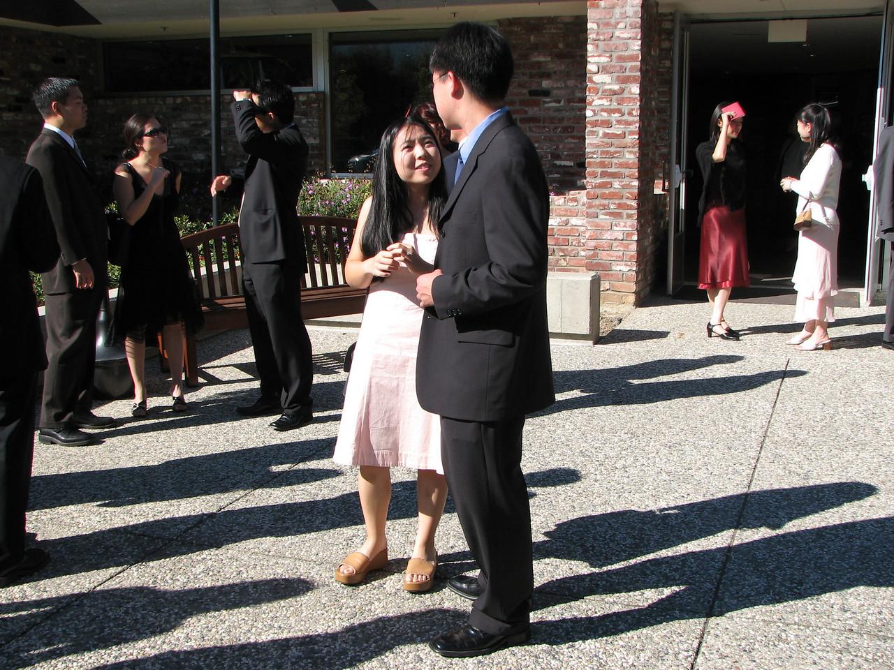 2006 10 08 Sun - Ceremony - Cynthia Cheung & Stephen Chang