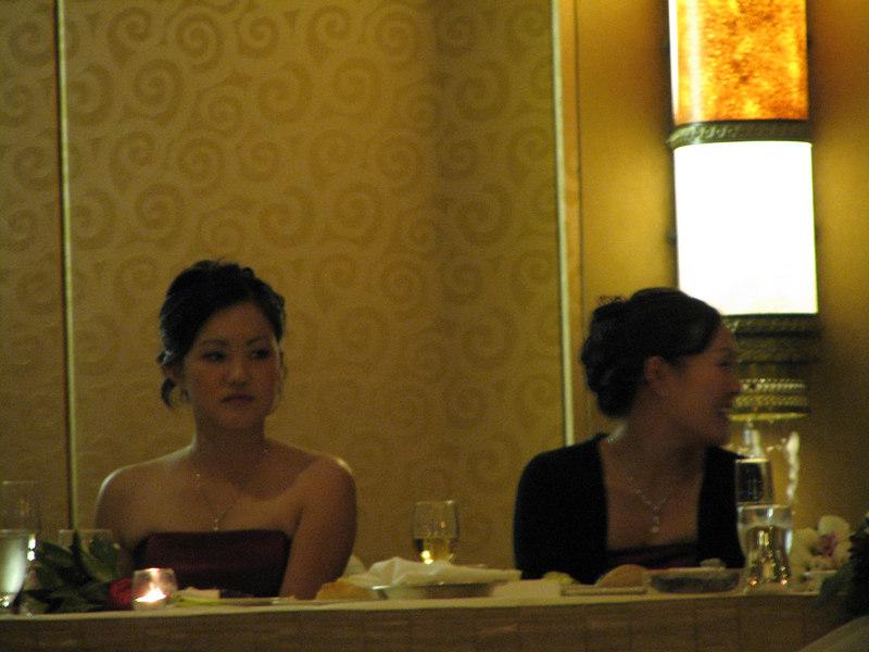 2006 10 08 Sun - Reception - Bernice Chen & Leslie Lee 2