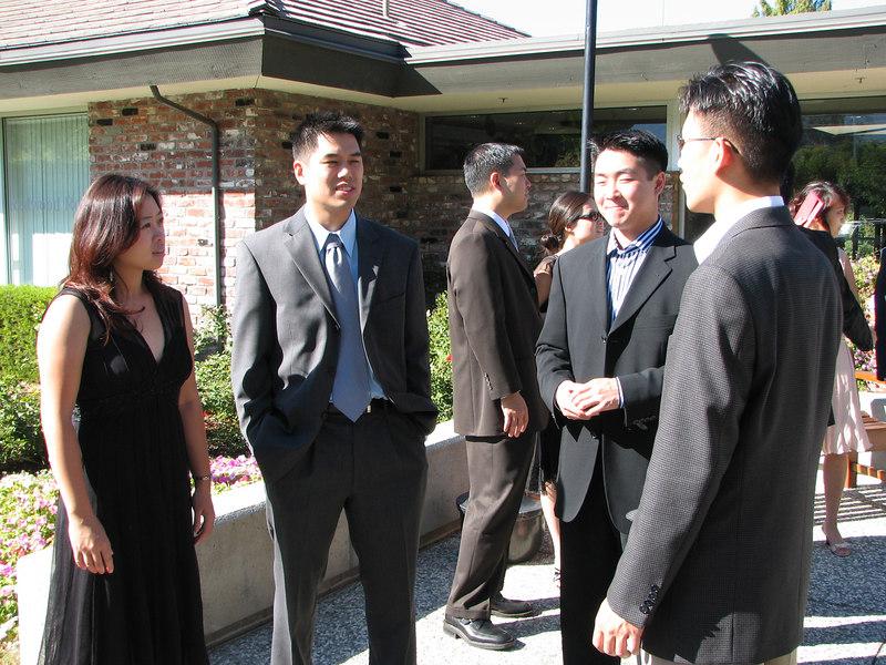 2006 10 08 Sun - Julie & Johnny Chen, Harry & Cathy Huang, Dean Chang, & Joe Lin