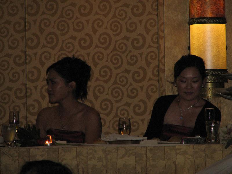 2006 10 08 Sun - Reception - Bernice Chen & Leslie Lee 1