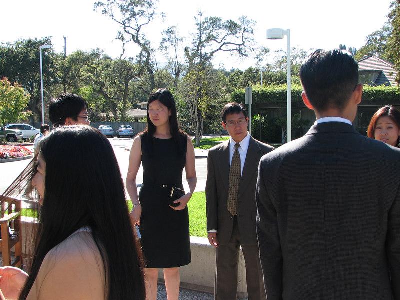 2006 10 08 Sun - Ceremony - Eric Liang, Lillian Yow, Steve Lee, Joe Lin, & Julie Chen