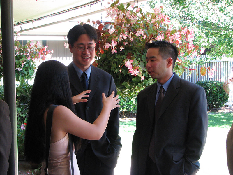 2006 10 08 Sun - Ceremony - Cynthia Cheung, Stephen Chang, & Henry Peng