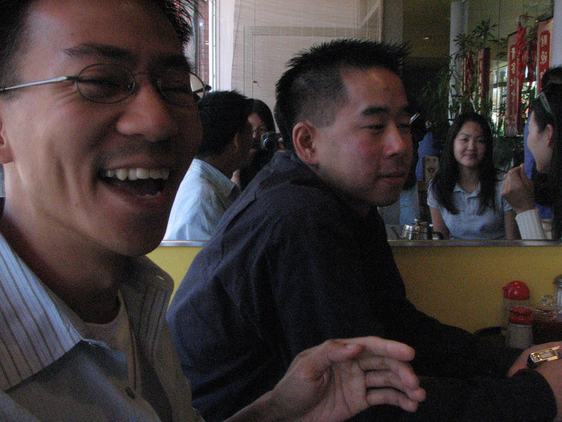 2006 10 07 Sat - Old EFC'ers lunch @ Queen's House in MV - Ben Yu & Henry Peng