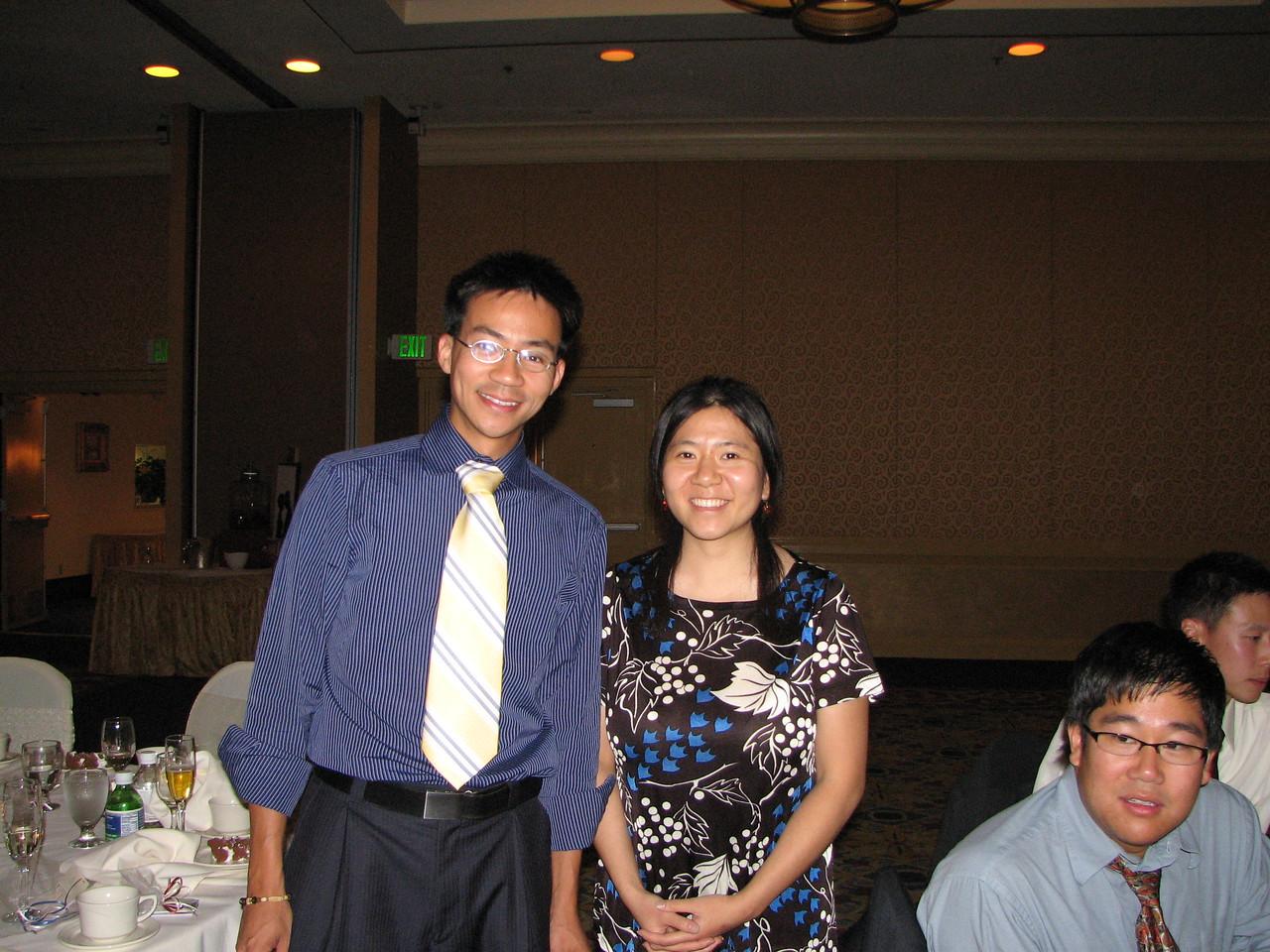 2006 10 08 Sun - Reception - Ben Yu & Angela Chen