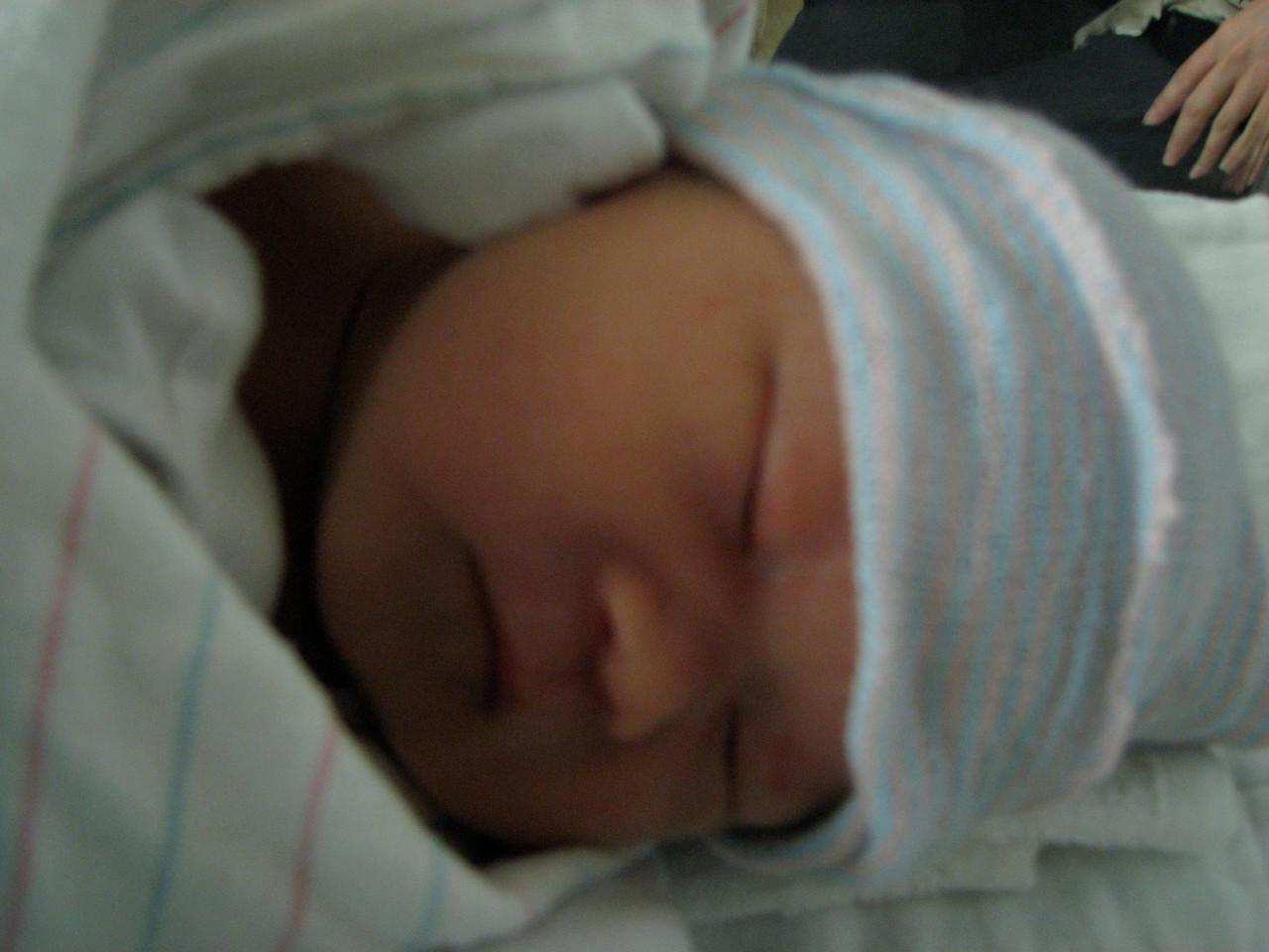 2007 03 23 Fri - Joshua Huang born 3-22-2007