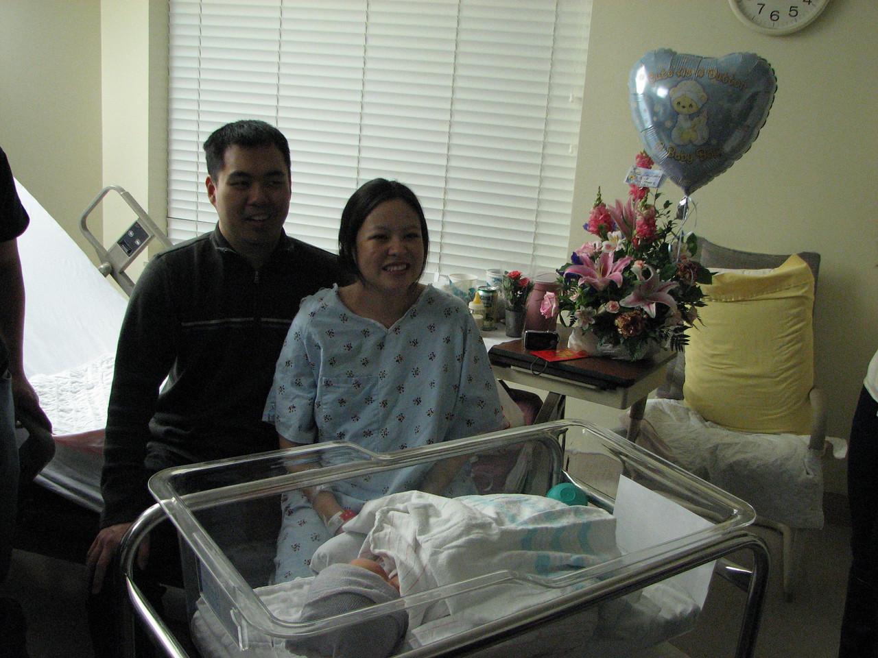 2007 03 23 Fri - Harry, Cathy, & Joshua Huang
