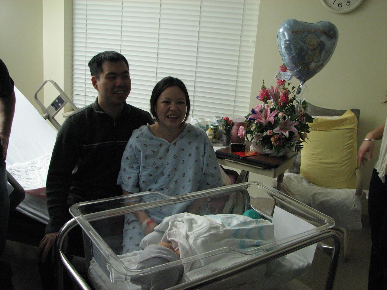 2007 03 23 Fri - Harry, Cathy, & Joshua Huang 2