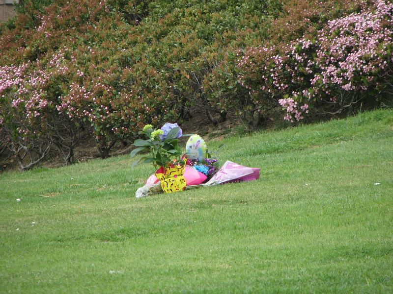 2007 03 26 Mon - Dan Nguyen's gravesite @ Rose Hills cemetary 1