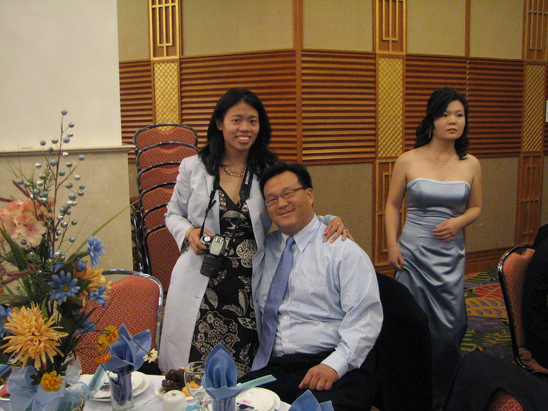 2007 05 19 Sat - Reception - Jane & Tom Wang and bridesmaid