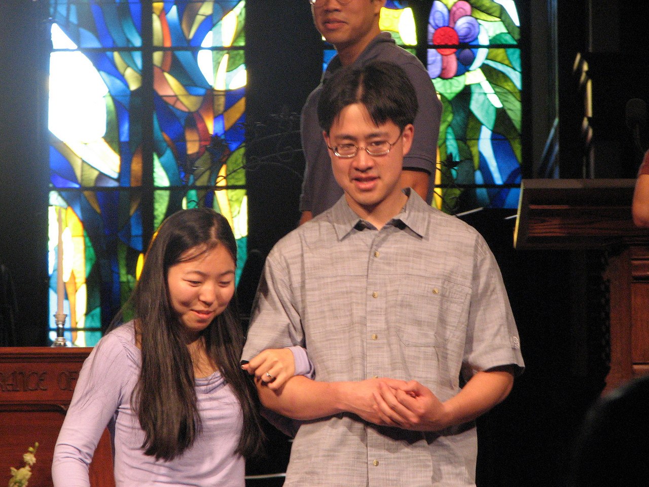 2007 05 18 Fri - Rehearsal - Cynthia Cheung & Stephen Chang 2