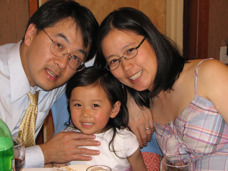 2007 05 19 Sat - Reception - Brian, Ally, & Jenny Chiang