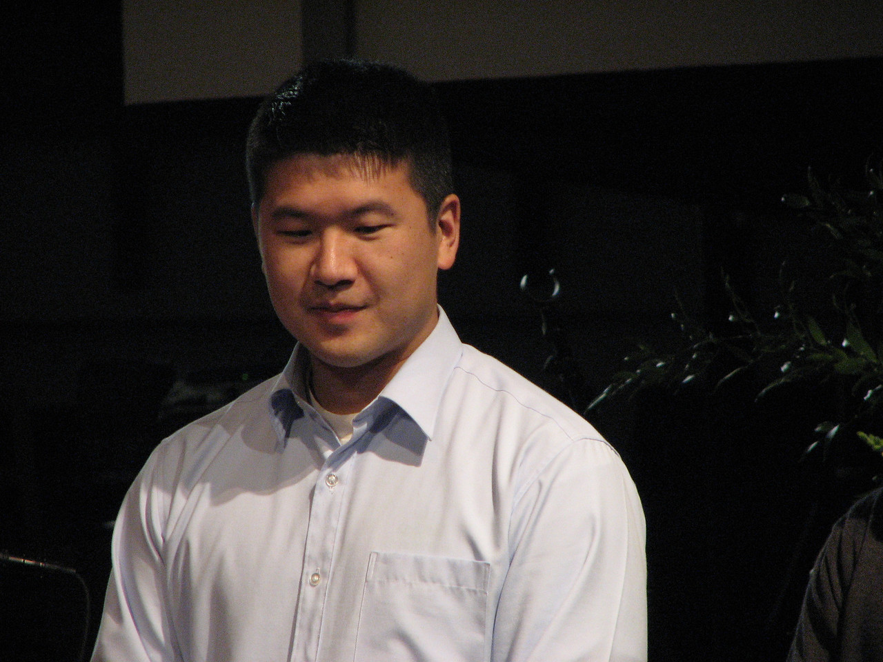 2007 05 18 Fri - Rehearsal - Groomsman Eric Hsieh