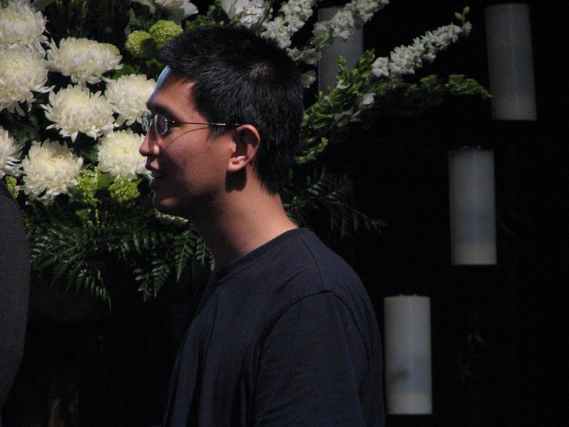 2007 05 18 Fri - Rehearsal - Groomsman Ben Liu