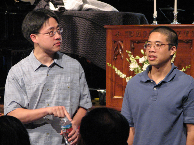 2007 05 18 Fri - Rehearsal - Stephen & David Chang