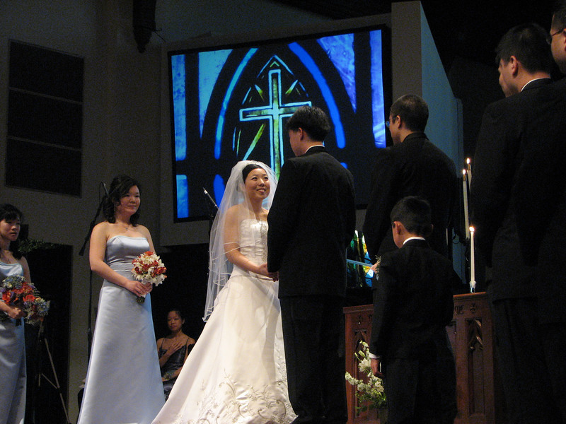 2007 05 19 Sat - Cynthia Cheung & Stephen Chang exchanging vows