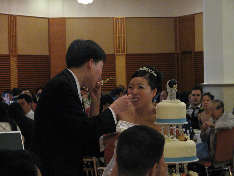 2007 05 19 Sat - Reception - Cake cutting 4