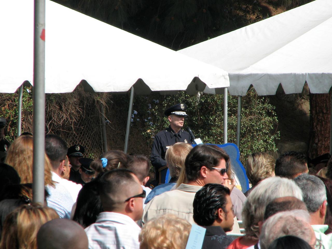 2007 05 25 Fri - LAPD Police Chief speech