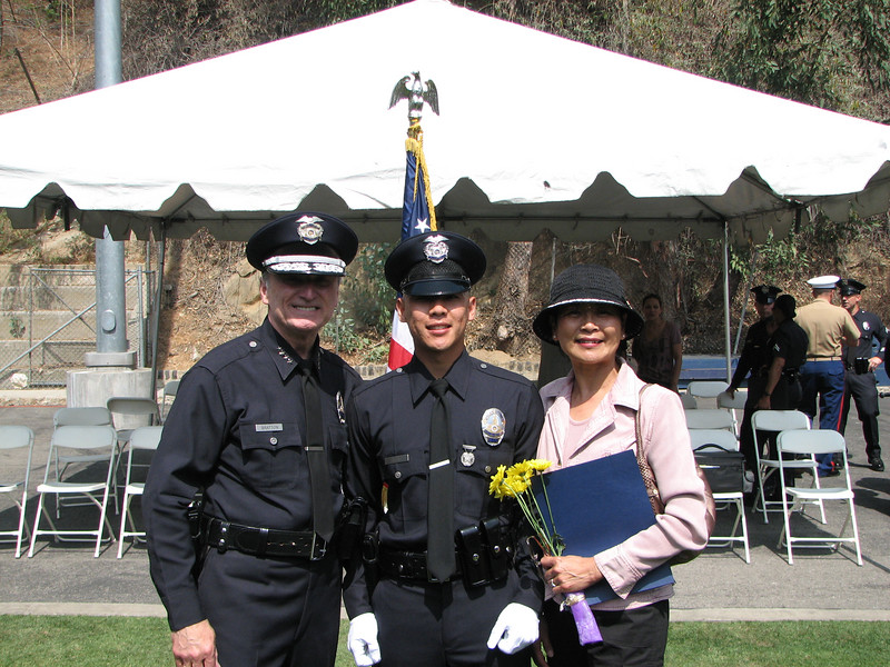 2007 05 25 Fri - LAPD Police Chief, Allen Hsiao, & Mama Hsiao