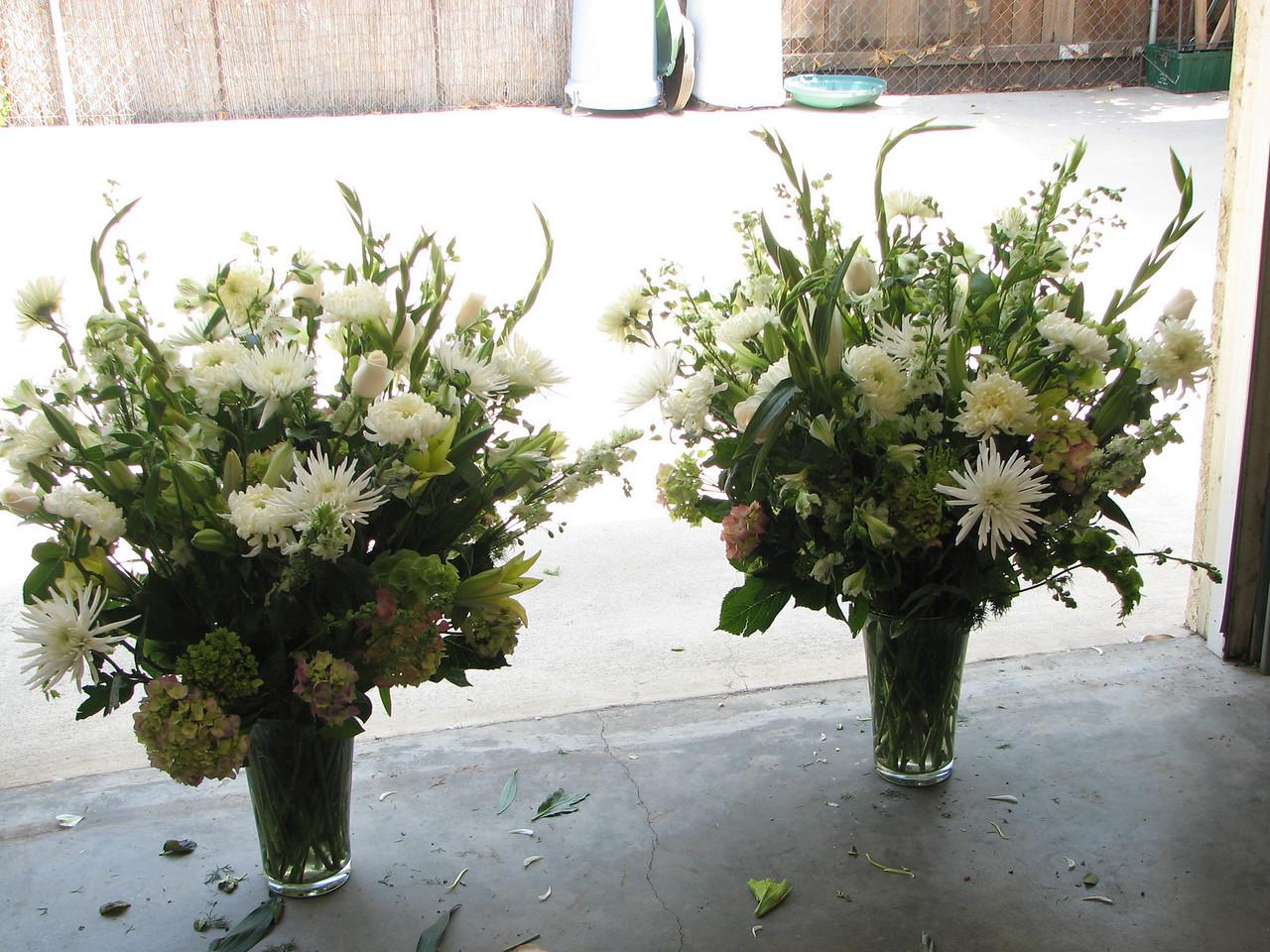 2007 06 09 Sat - Head bouquets - darker