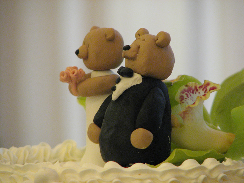 2007 06 09 Sat - Wedding cake topper 2