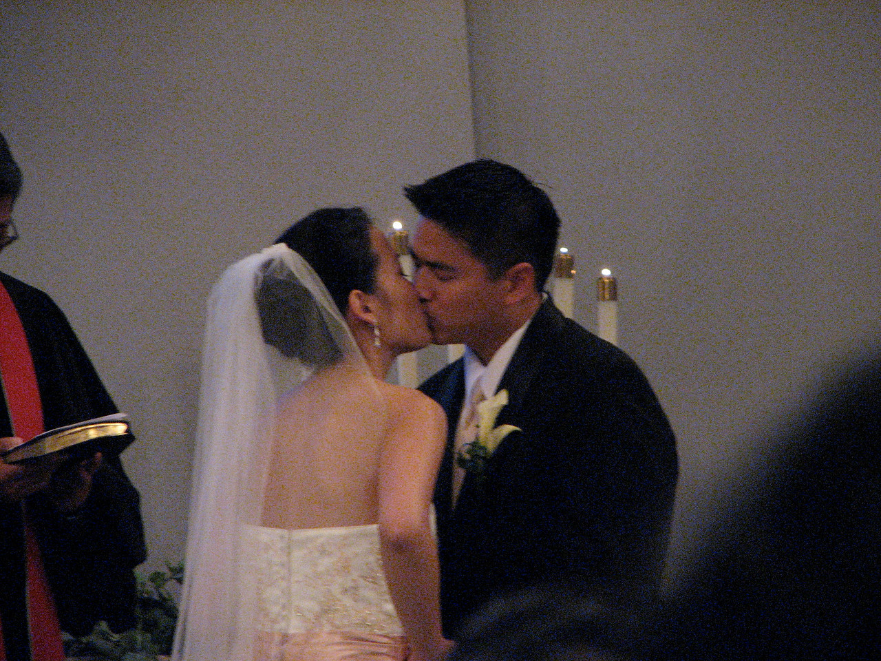 2007 06 09 Sat - The kiss during