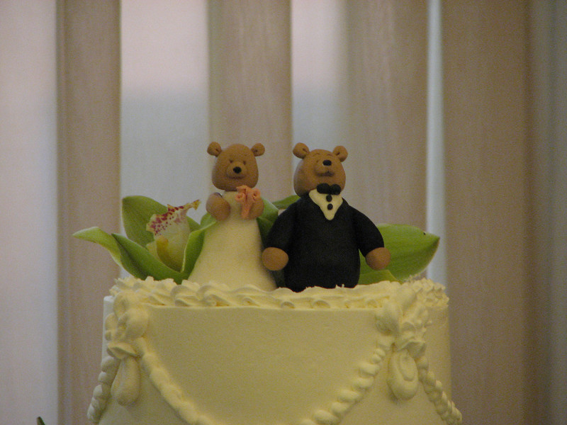 2007 06 09 Sat - Wedding cake topper 1