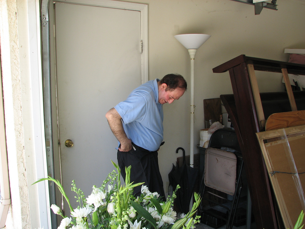 2007 06 09 Sat - Moe's changing room 1