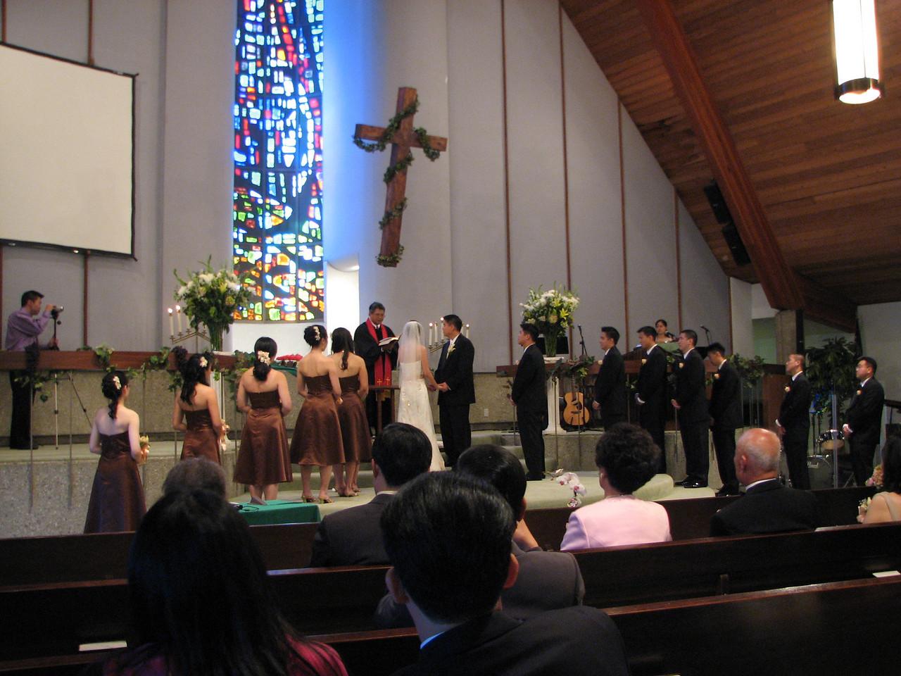 2007 06 09 Sat - Exchanging of vows 1