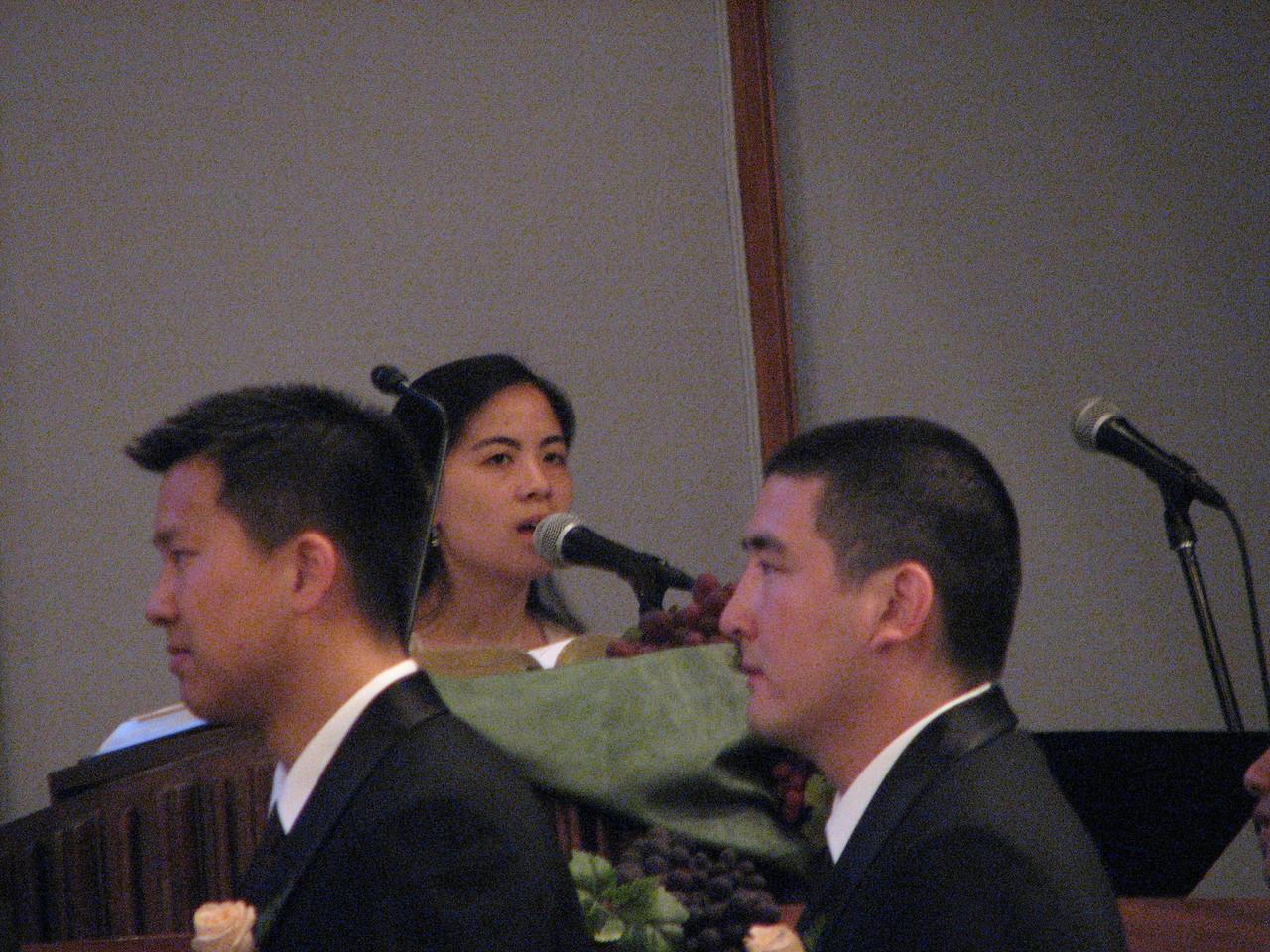 2007 06 09 Sat - Wedding singer - Audrey Wu