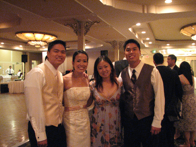 2007 06 09 Sat - Danny & Jessica Chen and Julie & Johnny Chen 1