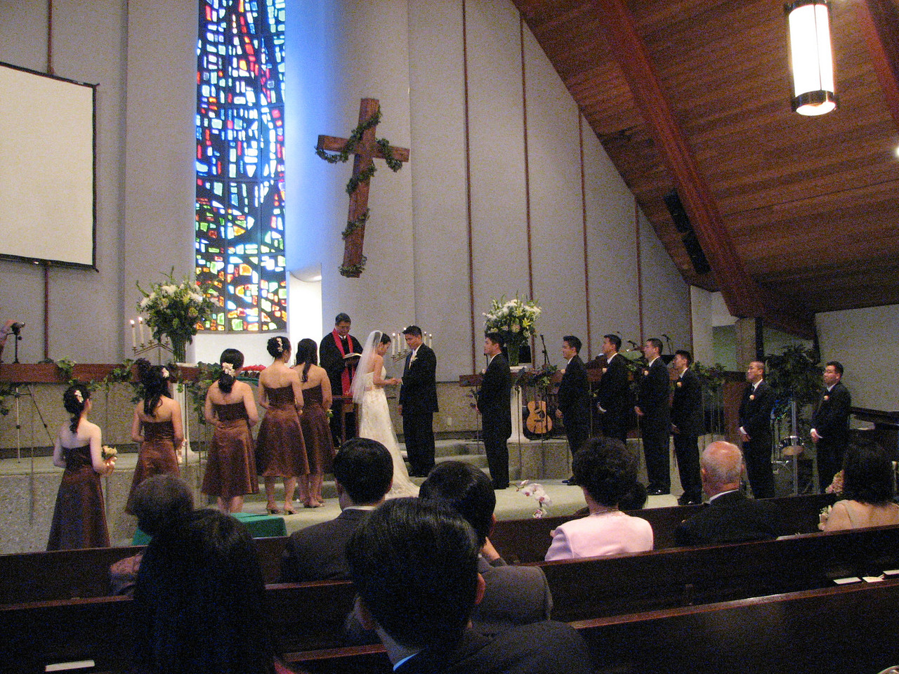 2007 06 09 Sat - Exchanging of rings