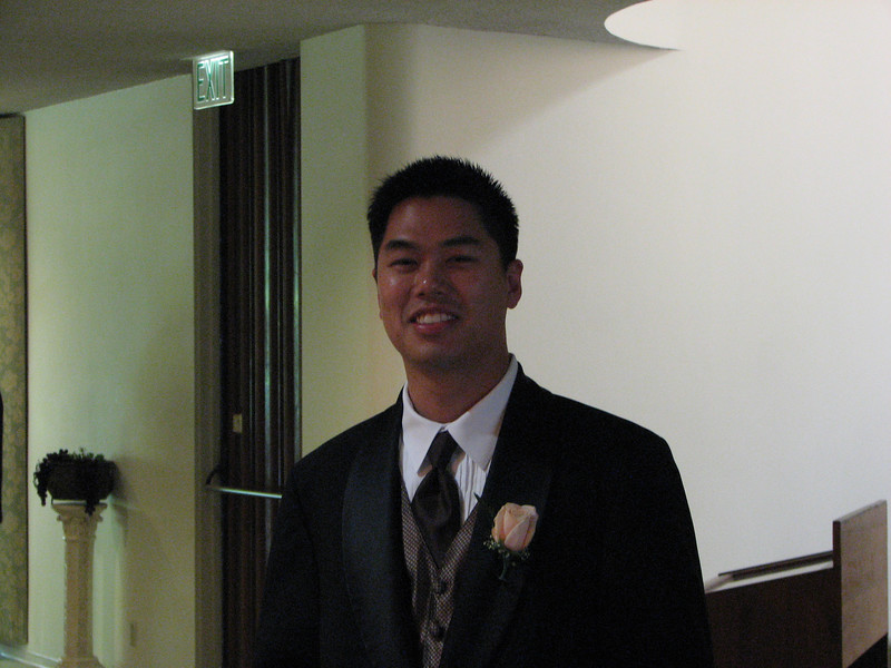 2007 06 09 Sat - Best Man & big brother Johnny Chen