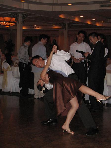 2007 06 09 Sat - Tony Fong dipping Melissa Fong