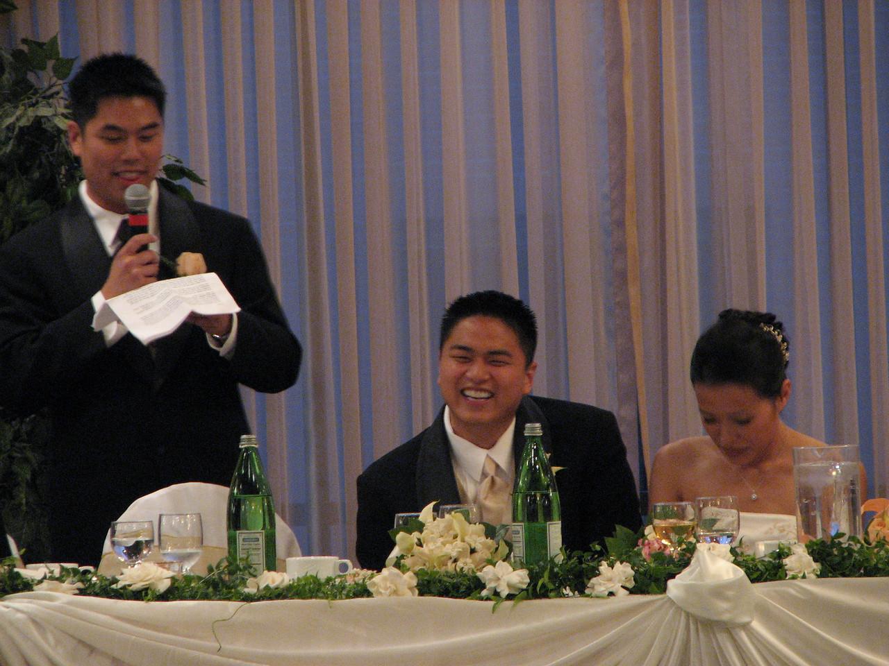 2007 06 09 Sat - Best man toast 2 - Johnny Chen, Danny & Jessica Chen