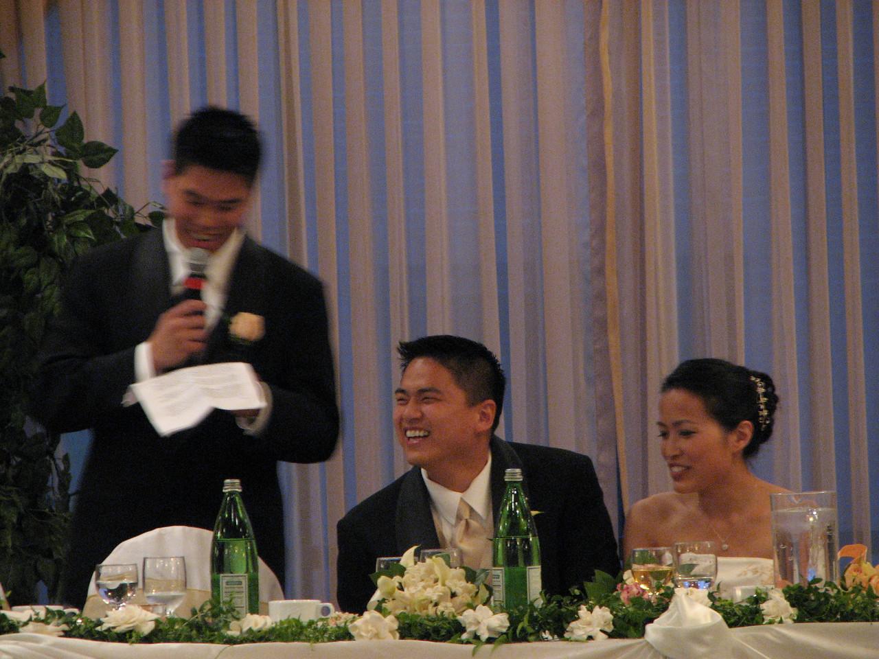 2007 06 09 Sat - Best man toast 1 - Johnny Chen, Danny & Jessica Chen