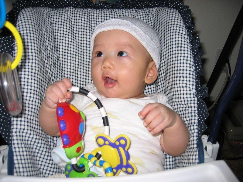 2004 08 13 Friday - Jenny & Brian's baby Ally Chiang