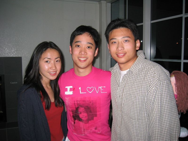 Nancy, Andy Wu, & Wing Ho