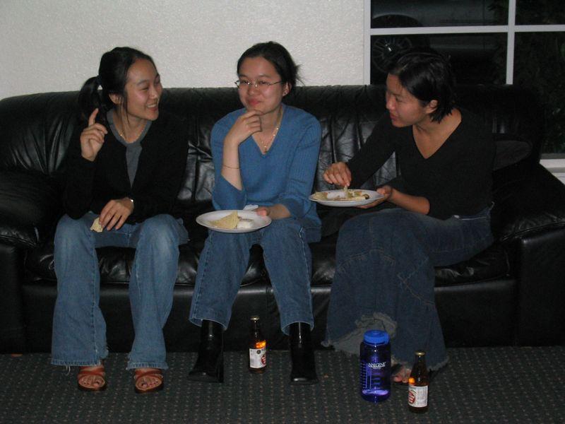 Melissa Lin, Christine Louie, & Cheryl Shih