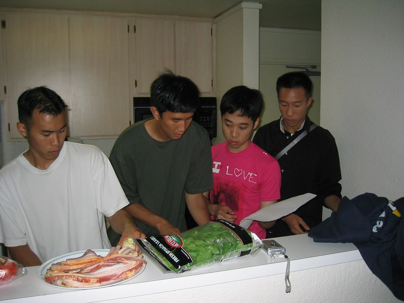 Iron Chef - Steve Hu, Ben Liu, Andy Wu, & Dan Wong
