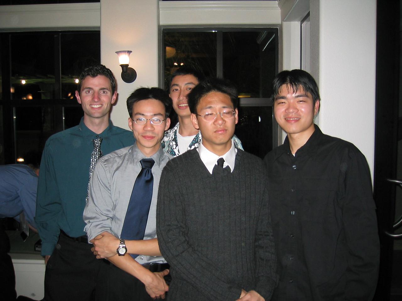 Fall '02 Guys small group - Luke, Ben, Jason, Phil, & Andy Chang