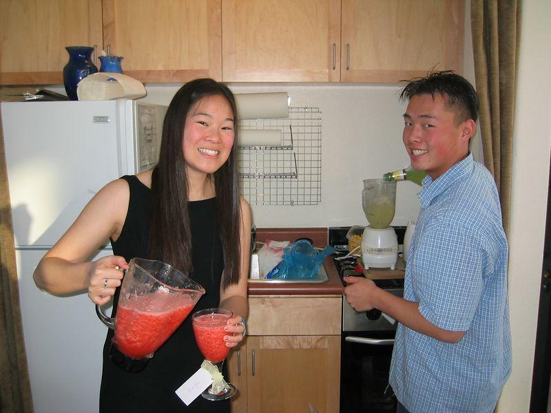 Bartenders brewing - Eileen & Sam
