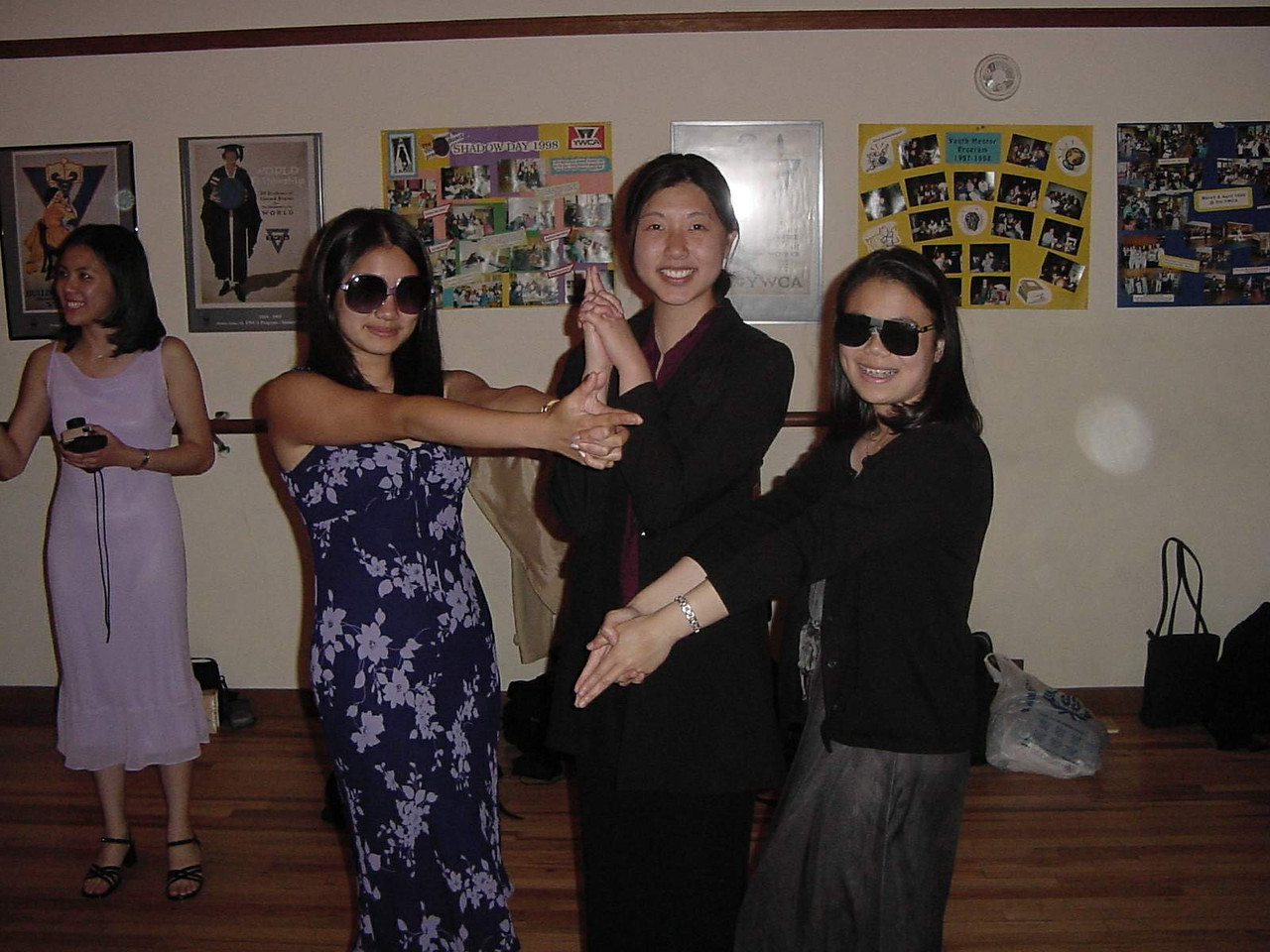 Brittany, Peggy, Annie - Charlie's Angels