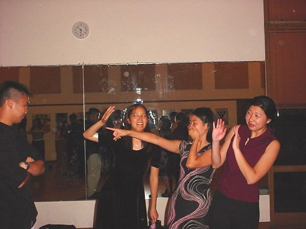 Jenny, Brittany, Peggy @ Banquet