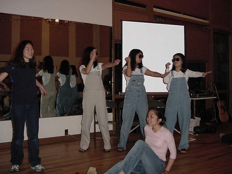 Eileen, someone, Brittany, Annie, & René @ Banquet