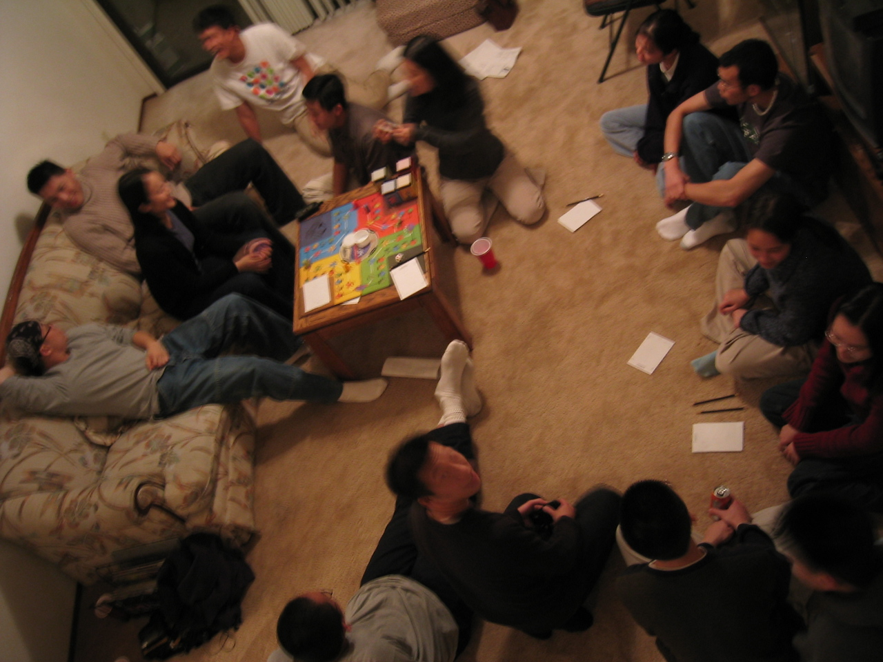 Cranium from above and no flash