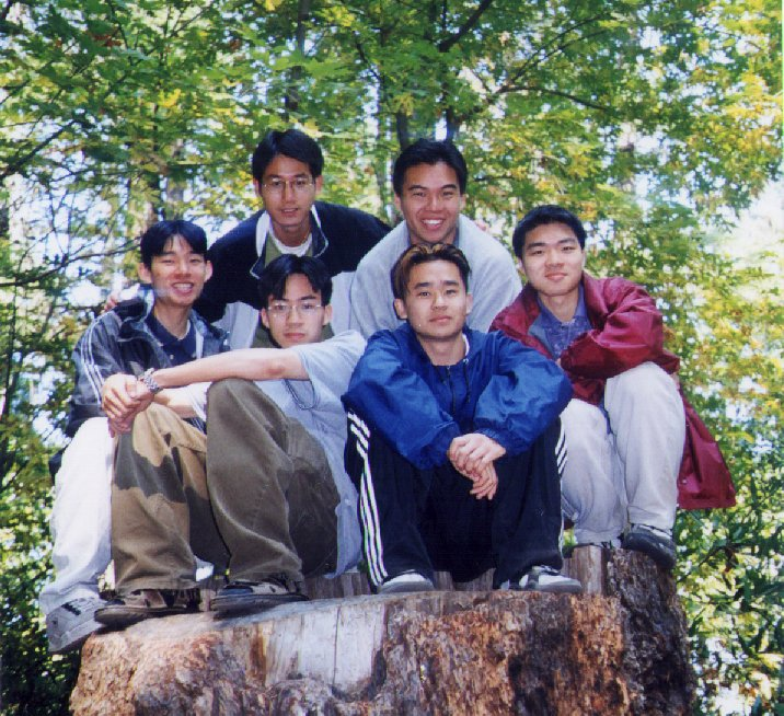 EFC Fall '99 Retreat small group