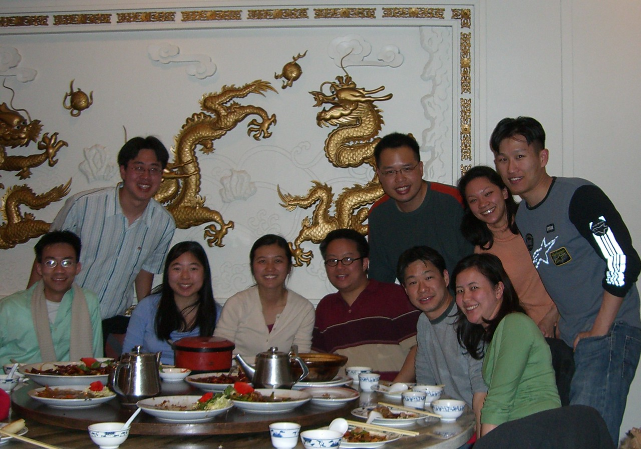 2006 04 22 Sat - Old EFC'ers dinner for Emy Chen's Berkeley visit from Boston