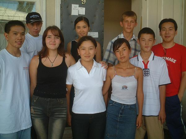 2004 08 18 Wednesday - Joe Chen's missions team to Kyrgyzstan
